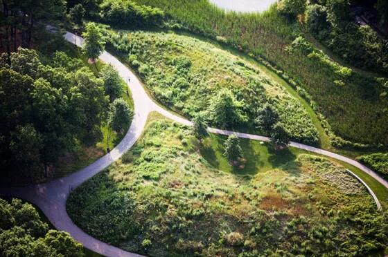 乡村休闲景观打造?4个国外景观廊道案例,变废为宝,震撼!
