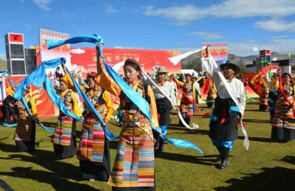 """西藏自治区第三届""""中国农民丰收节""""在日喀则市江孜县紫金乡举行"""